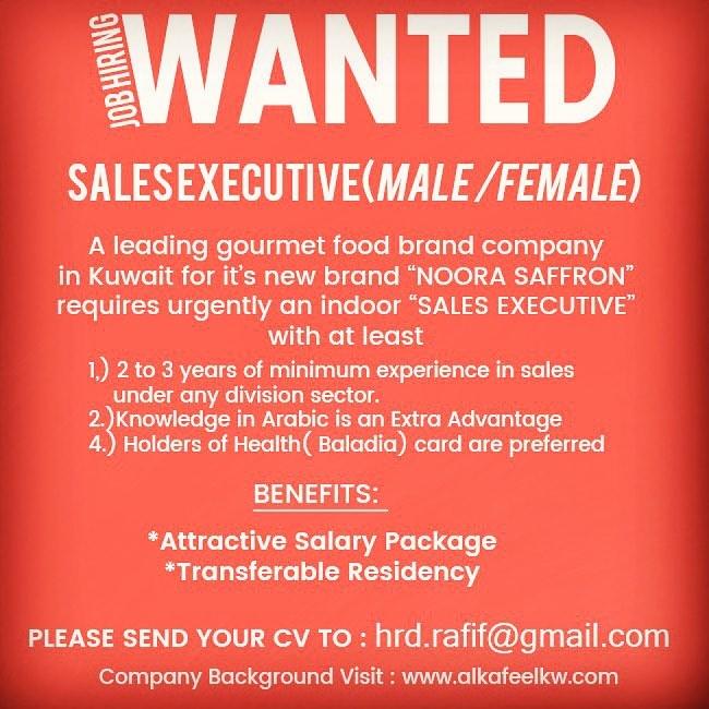 job hiring -sales assistant  male  female